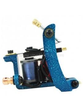 タトゥー マシン N102 10 層状コイルアイアンシェーダー ブルー