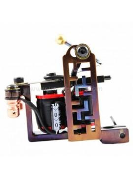 タトゥー マシン N102 10 層状コイルアイアンシェーダー レトログリッド