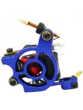 タトゥー マシン N110 10 層状コイル色 アルミニウム シェーダベアリング ブルー