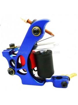 タトゥー マシン N110 10 層状コイル色 アルミニウム シェーダドロップ ブルー