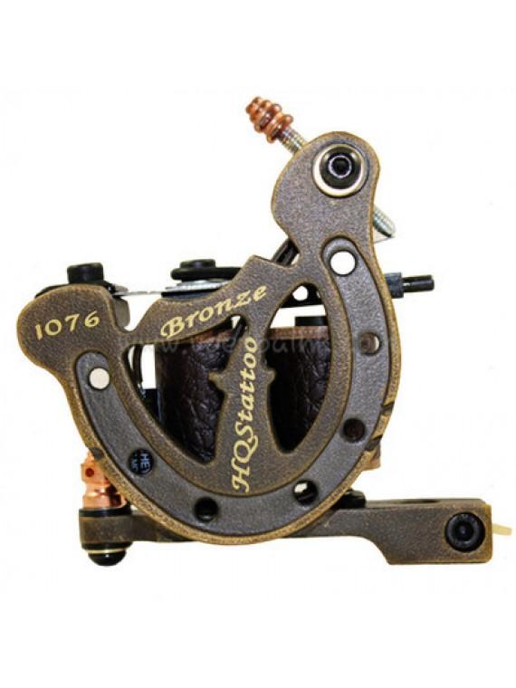タトゥー マシン N120 10 層状コイルブロンズシェーダー 1076