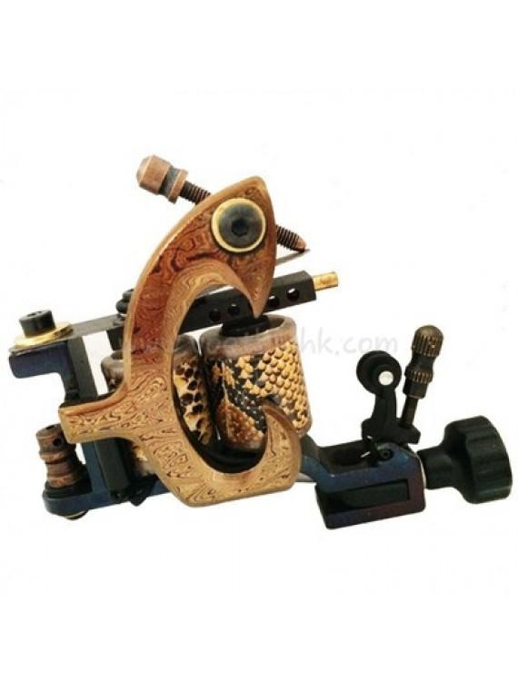 タトゥー 機械 N140 10 層状コイルブロンズシェーダー 爪